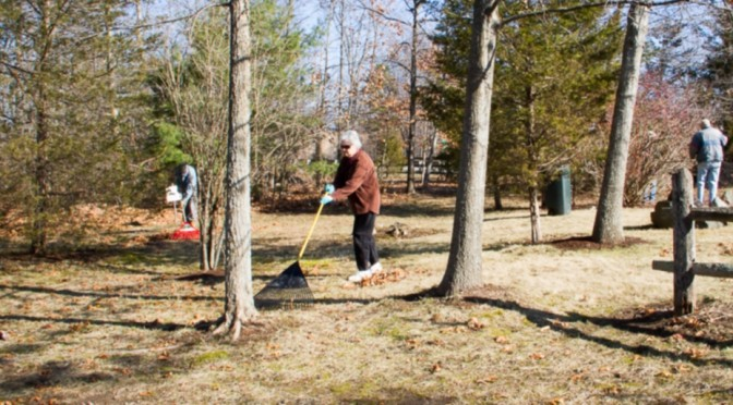 Farnsworth Landing Clean-up – 4/9/2014
