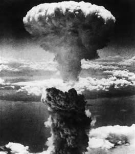 The beginning at Hiroshima of what perhaps could be the end.  Is it any wonder people negotiate so hard to reduce the number of nuclear weapons?  Yet even when the country with the most tries, many object.    -   Internet photo