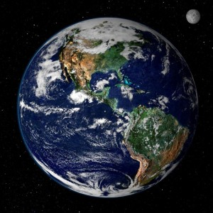 Pope Francis' home continent as seen from space by fellow humans. He includes all continents and oceans in his pleas for proper care. - courtesy of internet