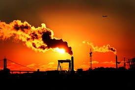 Pollution from natural and manmade sources in our atmosphere greatly enhances sunrises and sunsets. Manmade additions to these shows would be good for us to subdue. Let forest fires and volcanic eruptions provide such entertainment. We don't need to be entertained and at the same poisoned all the time. - Internet photo