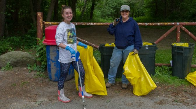 Middleton Pond Cleanup