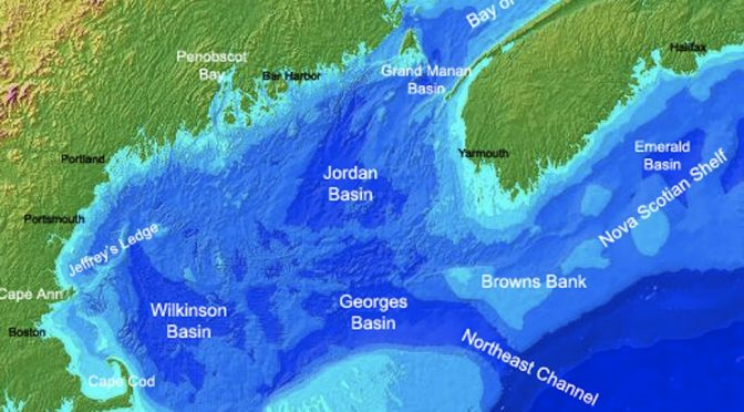 WATERSHEDS MIXING WITH THE GULF OF MAINE