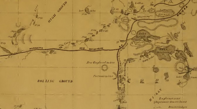 THIS 19TH-CENTURY MAP SHOWS THAT BEAVER DAMS ARE BUILT TO LAST