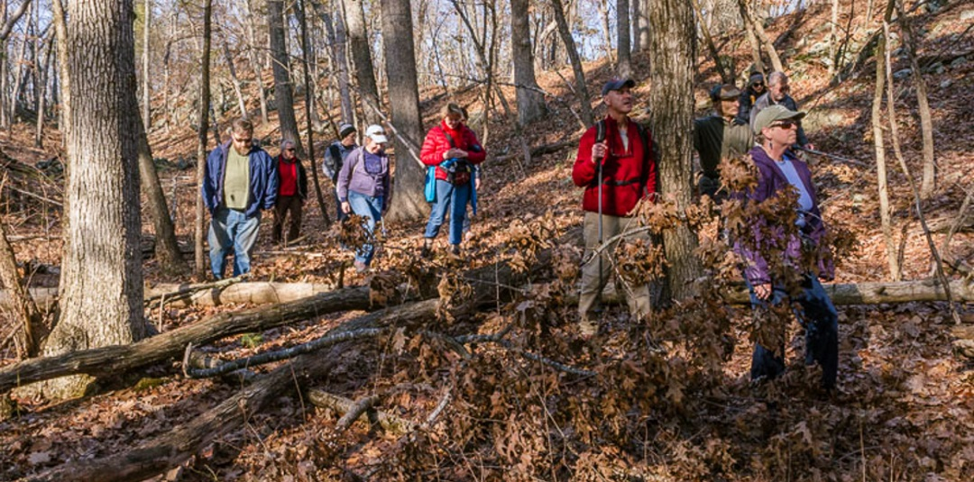 Middleton Stream Team Winter Hike January 31, 2016